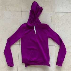 Fabletics Like New Cropped Sweater with Hood Sz XS